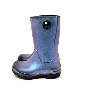 Crocs Wellie Iridescent Rain Boots